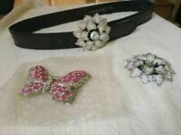 Ladies belt and buckles