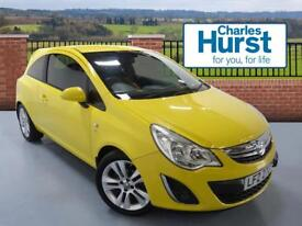 Vauxhall Corsa SXI A/C (yellow) 2011-06-03