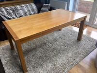 Rectangle Oak Dining Table, seats 6