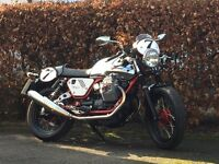 Moto Guzzi V7 Racer - 90th Anniversary Limited Edition - Cafe Racer - Low Miles