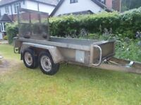 plant trailer INDESPENION 4 wheeler