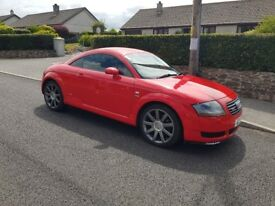 2002 immaculate audi tt s line sport in stunning red