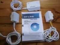 TP-Link Powerline Extender TL-WPA4220 300Mbps AV200