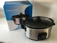 Cookworks Slow Cooker in box used once