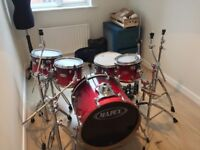 Mapex Pro M Series Drum Kit inc hardware (Tama/Mapex/Ludwig)