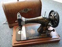 Singer sewing machine circa 1880s-90s