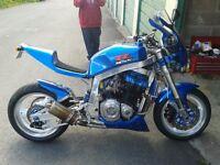 suzuki gsxr 1100 streetfighter project