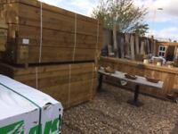 Timber posts 100x 100 mm 4x4inch 2.4m long