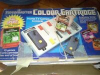 .1960sVideomaster colour cartridge home tv games console.