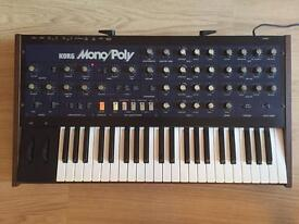 Korg MonoPoly Analogue Synthesizer/Synth - Incredible Condition