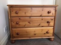 Pine chest of drawers collection only from Peckham