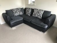 Sofology right hand corner sofa & swivel chair
