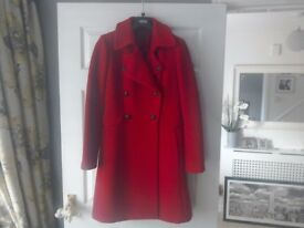 RALPH LAUREN WOMEN'S WOOL COAT SIZE XS