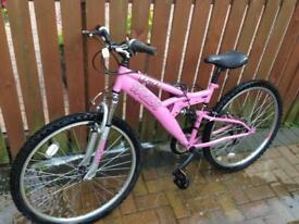 Ladies Trax bicycle