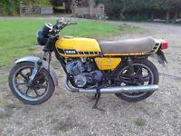 Yamaha RD 250E two stroke, needing complete restoration