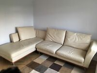 Leather corner sofa from Deco it's a bargain