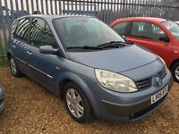 VERY CLEAN AND TIDY 2005 RENAULT SCENIC DYNAMIQUE 1.6 FULLY AUTOMATIC WITH ALL WORKING LIKE NEW FSH.