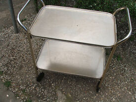 original 1960s tea / hostess trolley