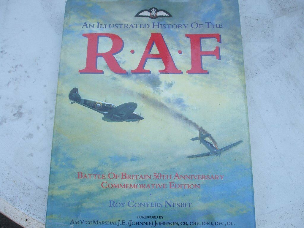 "LOVELY HARDBACK BOOK ""HISTORY OF THE ""R A Fin Caister on Sea, NorfolkGumtree - Lovely Hardback Book telling the history of the ""R A F"" packed with photos and information. Cost over £30 new"