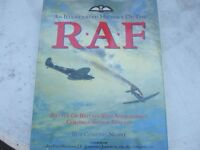 "LOVELY HARDBACK BOOK ""HISTORY OF THE ""R A F"""