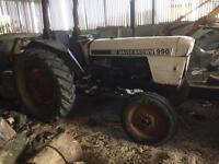 David brown 990 tractor spares or repair