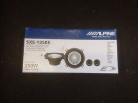 ALPINE SPEAKERS 2 SETS BRAND NEW IN THE BOX