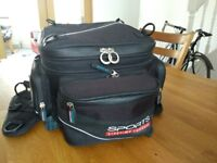 Oxford Lifetime Luggage expandable tailpack