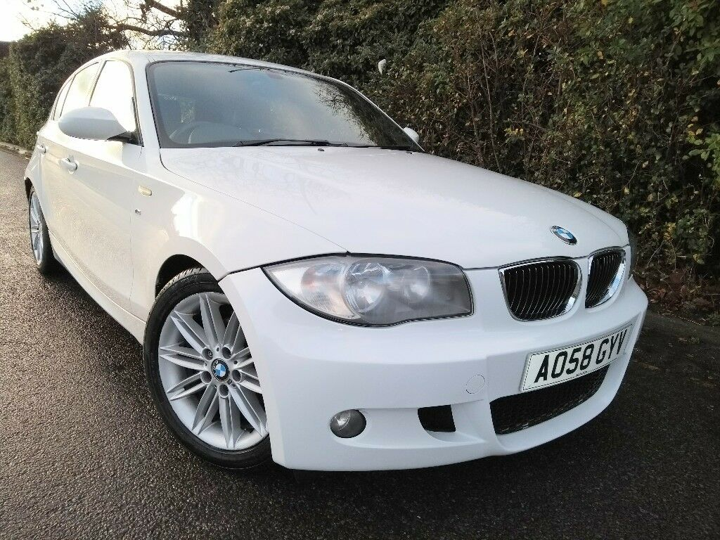 2009 bmw 116i m sport white 1 6 6 speed 5 door 116 1 series in christchurch dorset gumtree. Black Bedroom Furniture Sets. Home Design Ideas