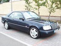 1996 Mercedes E220 2.2 Coupe - Timeless Classic - FSH - Cream Leather