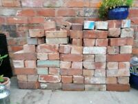 Red Bricks (Vintage/Mixed) and Blue bricks