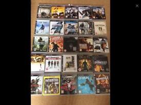 PS3 bundle of games