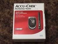 Blood Glucose Monitor - New Boxed & Unused - With test strips