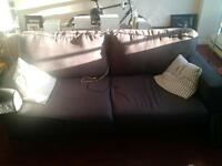 Free grey couch