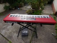Nord Piano 88 with heavy duty stand, 3 font pedal, disk and manual.