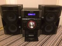 Sony Stereo System (CD, IPod and Radio Player)