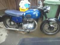 AJS 250 cc model 14 1960