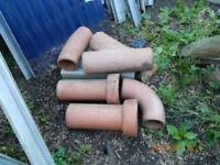 Drainage pipes and couplers