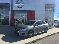 2013 NISSAN SENTRA SR, ONE OWNER , LOCAL TRADE, MINT CONDITION.