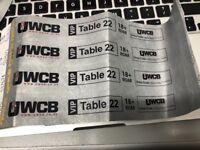 4 x UWCB VIP Boxing Tickets Hull 17/12/17