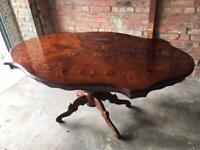 Antique table 174 cm x 107 cm