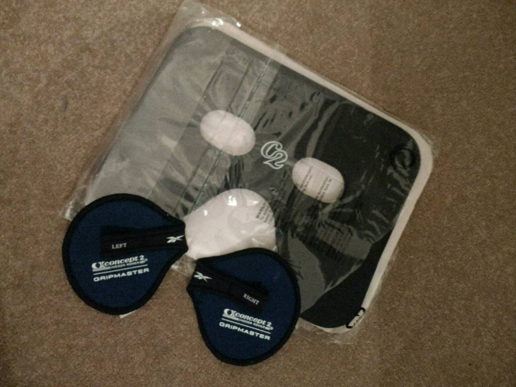 Concept 2 Seat Pad and Grip Masters