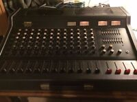 Yamaha EM 300 Analogue Mixing Console with Flightcase