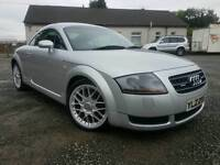 2003 Audi TT 1.8T(225BHP) QUATRO,XENONS, Black heated leather, f/s/h