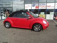 2006 06 VOLKSWAGEN BEETLE 1.6 LUNA 8V 2d 101 BHP **** GUARANTEED FINANCE ****