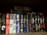 James Patterson Alex Cross books x16