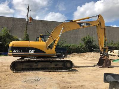 2006 Caterpillar Cat 320cl Crawler Excavator Jrb Quick-coupler 4648 Hrs