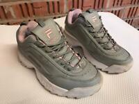 FILA Girls Trainers Very Good Condition