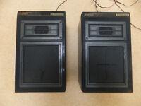 Pair of Stereo Speakers Pioneer S-202X