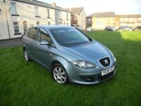 SEAT TOLEDO 1.9 TDI STYLANCE 06 REG 5 DOOR TIMING BELT REPLACED FULL SERVICE HISTORY