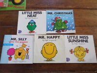 Mr Men books & figures